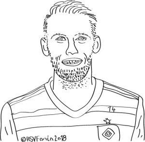 Aaron Hunt Hamburger SV ©HSV-Fanin 2018