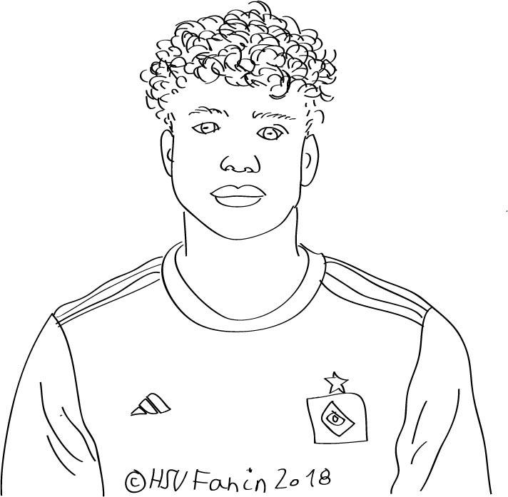 Jonas David, Hamburger SV, Saison 2018/2019, ©HSVFanin