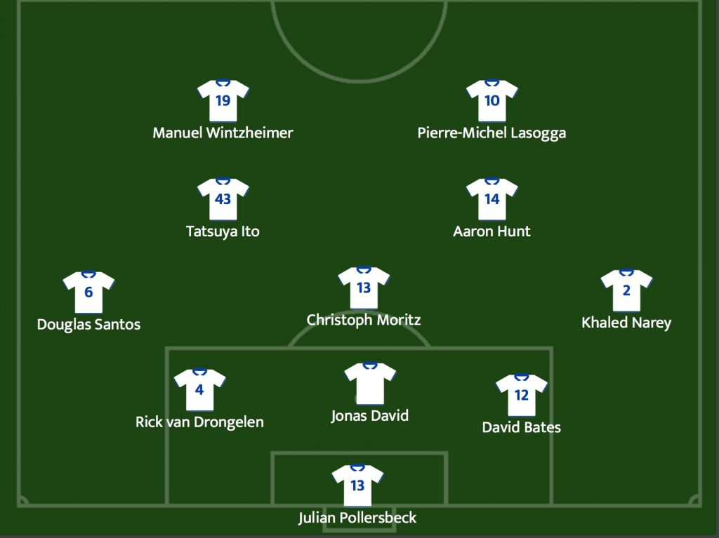 Hamburger SV gegen AS Monaco 28.07.2018 Freundschaftsspiel ©https://www.club-solutions.de/home.html
