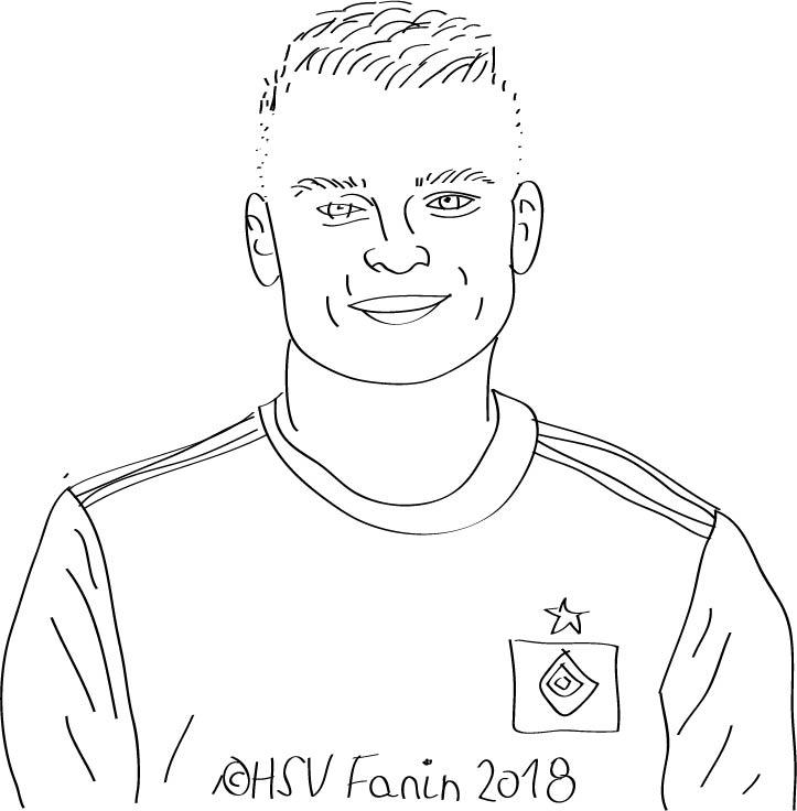 Vasilije Janjicic, Hamburger SV, Saison 2018/2019, ©HSV Fanin 2018