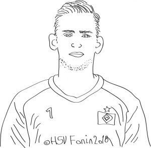 Julian Pollersbeck, Hamburger SV, Saison 2018/2019 ©HSV Fanin 2018