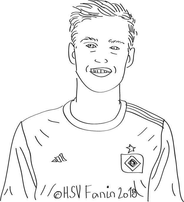 Matti Steinmann, Hamburger SV, Saison 2018/2019 ©HSV Fanin 2018