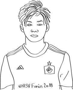 Tatsuja Ito, Hamburger SV, Saison 2018/2019, ©HSV Fanin